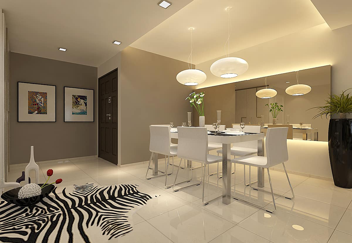 Residential interior design contractor in singapore eight design