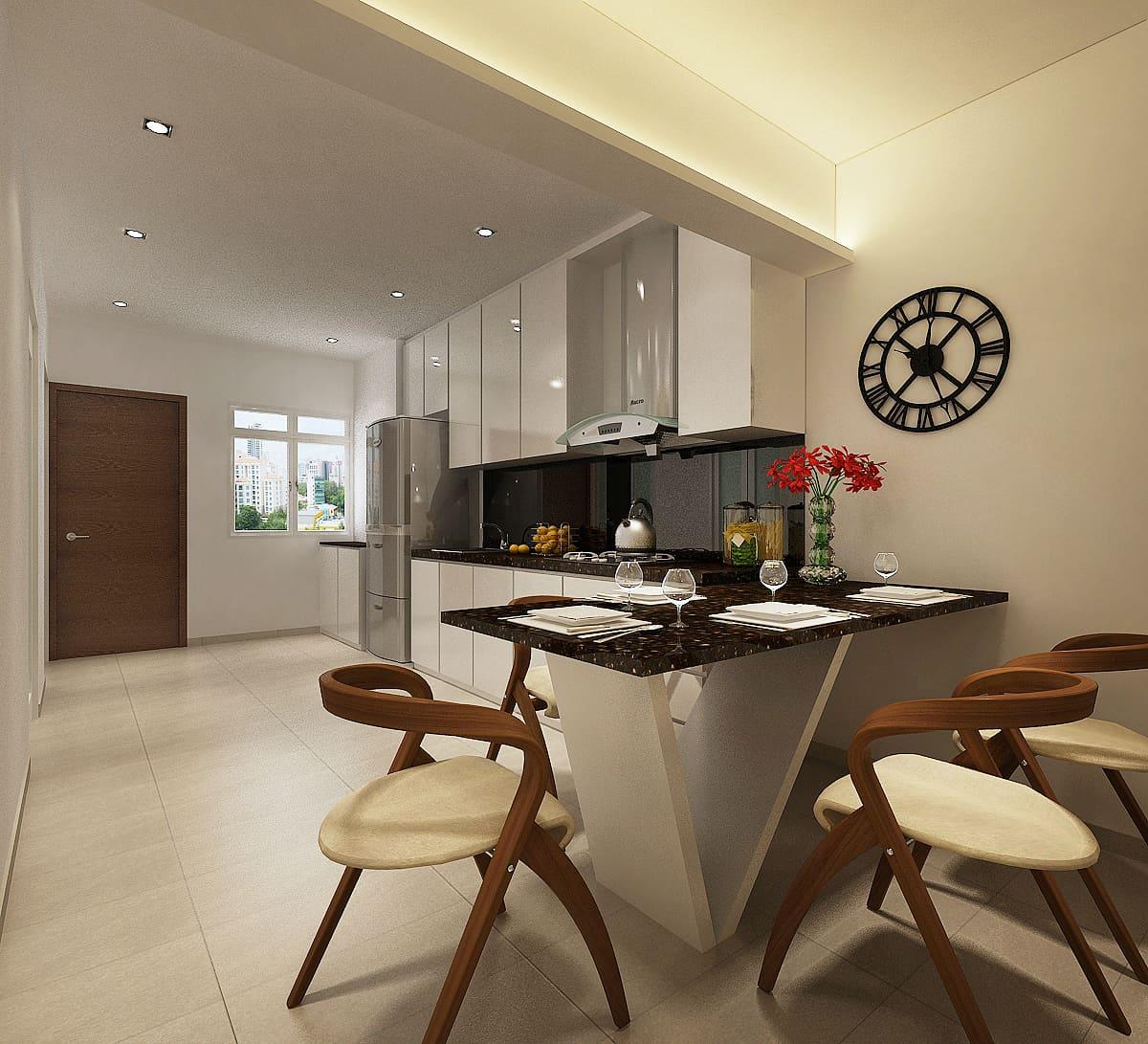 Home Design Ideas For Hdb Flats:  HDB Interior Design & Renovation Contractor Singapore
