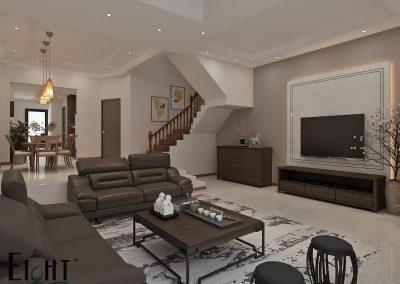 landed house living room